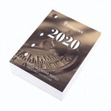 Collins 2020 Side Opening Desk Calendar Refill