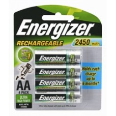 Energizer Rechargable Aa Battery 4 Pack