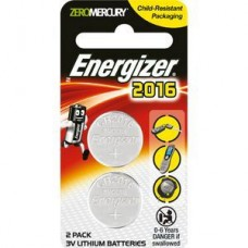 Energizer CR2016 Calculator Batteries 2 Pack