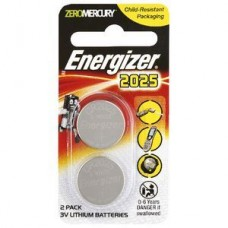 Energizer CR2025 Calculator Batteries 2 Pack