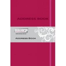 Address Book A5 Pink Contempo