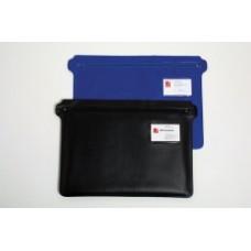 Convention Case Pvc + Zip Blue Or Black