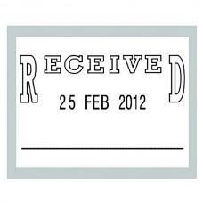 Deskmate Received Dater Stamp