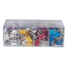 Celco Metallic Fold Back Clips 19mm Box 96