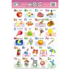 Jasart Learning Wall Chart ABC
