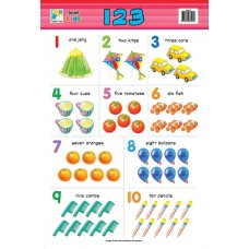 Jasart Learning Wall Chart 123 Numbers