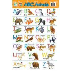 Jasart Learning Wall Chart ABC Animals