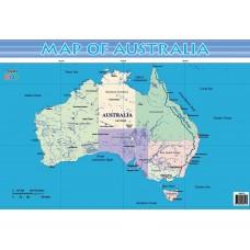 Jasart Kids Wall Chart - Map of Australia
