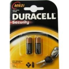 Duracell Alkaline 12V Battery Pkt 2