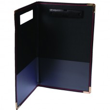 Esselte Foolscap Clipfolder Supertuff - Black