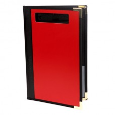 Esselte Foolscap Clipfolder Supertuff - Red