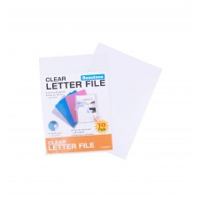 Beautone A4 Clear Letter File Pkt 10