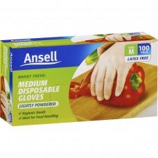 Ansell Multi Purpose Powder Free Gloves Pkt 50
