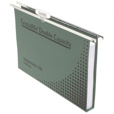 Crystal File Double Capacity Suspension File Pack 10