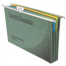 Crystalfile Expanding Suspension File Box 10