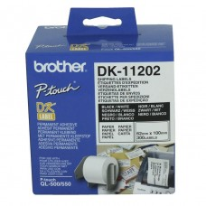 Brother DK-11202 White Thermal Shipping Labels