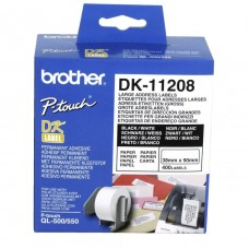 Brother DK-11208 White Thermal Address Label