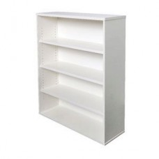 Rapid Vibe Bookcase 1200mm White