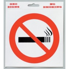 No Smoking Adhesive 150x150mm