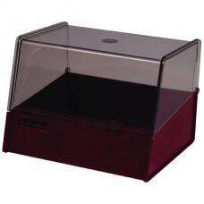 Esselte Card Box 127 x 203mm Burgundy
