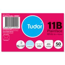 Tudor 11B Plain Face Envelopes Pkt 50