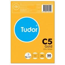 Tudor C5 Kraft Peel N Seal Envelopes Pkt 50