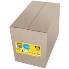 Tudor C4 Heavy Duty Kraft Envelopes Box 250
