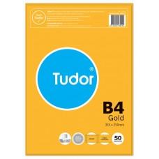Tudor B4 Gold Peel N Seal Envelopes Pkt 50