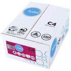 Tudor C4 White Peel N Seal Envelopes Box 250