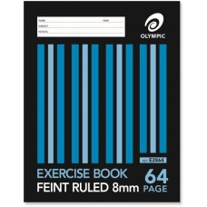 Olympic 225 x 175mm 8mm 64 page Exercise Book