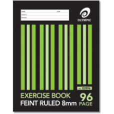 Olympic 225 x 175mm 8mm 96 page Exercise Book