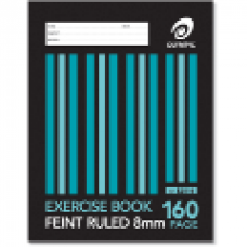 Olympic 225x175mm 8mm 160 Page Exercise Book