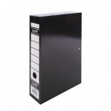 Bantex Box File Foolscap 70mm Black