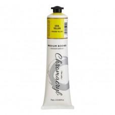 Chromacryl Student Acrylic Paint 75ml Cool Yellow