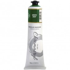 Chromacryl Student Acrylic Paint 75ml Deep Green