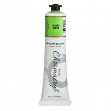 Chromacryl Student Acrylic Paint 75ml Fluro Green