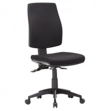 Click High Back Chair Metro Black