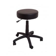 Data Stool Desk Height - Black