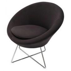 Splash Cone Reception Chair - Chrome Base