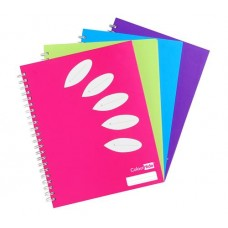 Colourhide A4 Hardcover 5 Subject Notebook 250 Page