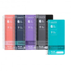 Colourhide My Tall Notebook 200 page