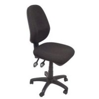 EG100 High Back Operator Chair - SF Black