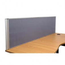 Rapidline Desk Top Screen 1800mm Grey