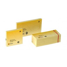 Marbig Yellow Adhesive Notes 40 x 50mm