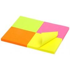 Marbig Brilliant Mini Notes  40 x 50mm Pkt 4