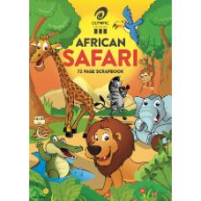 Olympic 240 x 335mm 72 page Safari Scrapbook