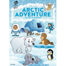 Olympic 335 x 240mm 96 page Arctic Scrapbook