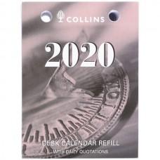 Collins 2021 Top Opening Desk Calendar Refill