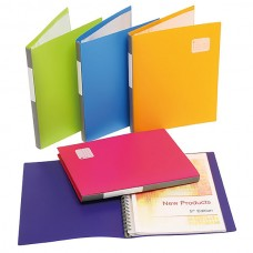 Marbig A4 20 Pocket Pro Series Display Book Assorted