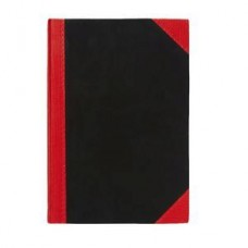 Black & Red A4 Notebook Ruled 200 Page Pkt 5